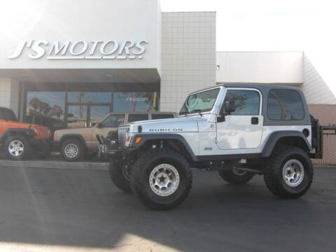 2005 Jeep Wrangler for sale at J'S MOTORS in San Diego CA