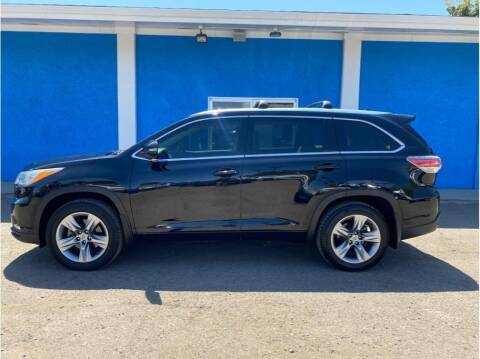 2015 Toyota Highlander for sale at Khodas Cars in Gilroy CA