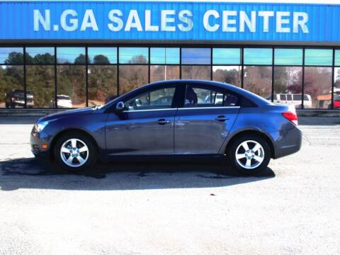 2014 Chevrolet Cruze for sale at NORTH GEORGIA Sales Center in La Fayette GA
