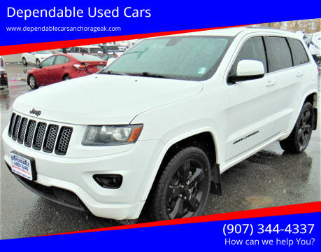 2015 Jeep Grand Cherokee for sale at Dependable Used Cars in Anchorage AK