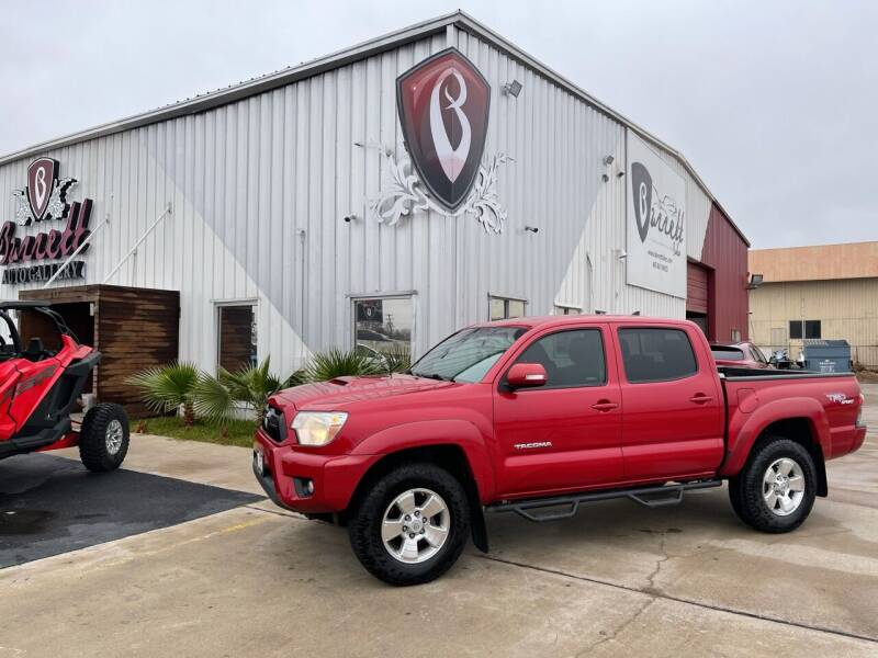 2012 Toyota Tacoma for sale at Barrett Auto Gallery in San Juan TX
