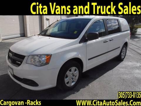 2012 RAM C/V for sale at Cita Auto Sales in Medley FL