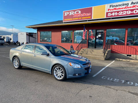2008 Chevrolet Malibu for sale at Pro Motors in Roseburg OR