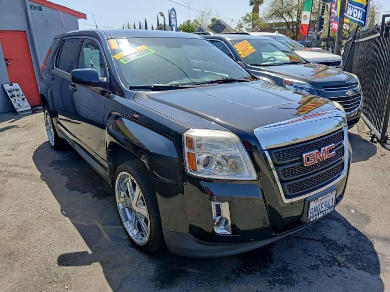 2012 GMC Terrain for sale at Rey's Auto Sales in Stockton CA
