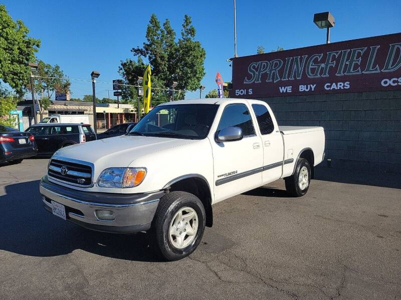 2001 Toyota Tundra for sale at SPRINGFIELD BROTHERS LLC in Fullerton CA