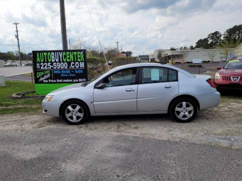 2007 Saturn Ion for sale at AutoBuyCenter.com in Summerville SC