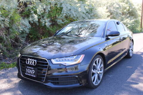 2012 Audi A6 for sale at Northwest Premier Auto Sales in West Richland And Kennewick WA