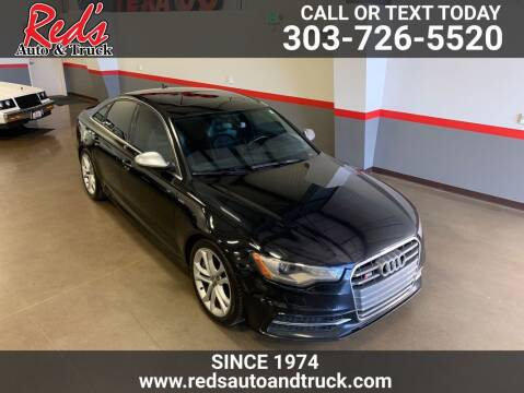 2013 Audi S6 for sale at Red's Auto and Truck in Longmont CO