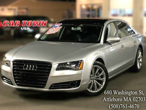 2012 Audi A8 L for sale at Car Town USA in Attleboro MA