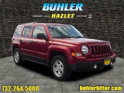 2016 Jeep Patriot for sale at Buhler and Bitter Chrysler Jeep in Hazlet NJ