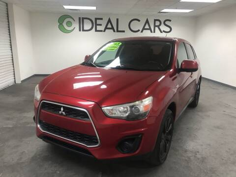 2013 Mitsubishi Outlander Sport for sale at Ideal Cars Broadway in Mesa AZ