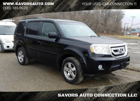 2009 Honda Pilot for sale at SAVORS AUTO CONNECTION LLC in East Liverpool OH