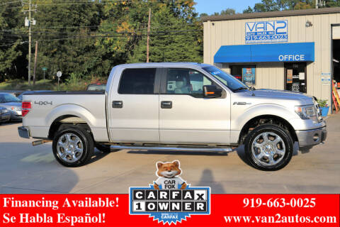 2014 Ford F-150 for sale at Van 2 Auto Sales Inc in Siler City NC