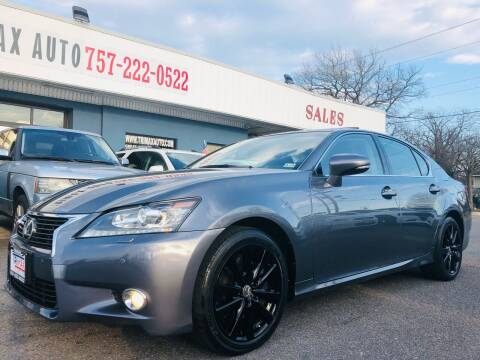 2013 Lexus GS 350 for sale at Trimax Auto Group in Norfolk VA