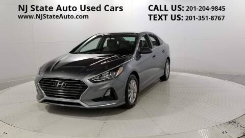 2018 Hyundai Sonata for sale at NJ State Auto Auction in Jersey City NJ