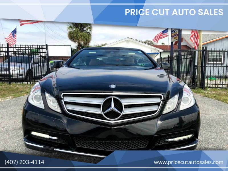 2012 Mercedes-Benz E-Class for sale at Price Cut Auto Sales in Orlando FL
