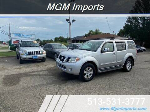 2011 Nissan Pathfinder for sale at MGM Imports in Cincinnati OH
