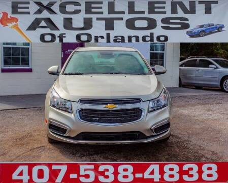 2016 Chevrolet Cruze Limited for sale at Excellent Autos of Orlando in Orlando FL