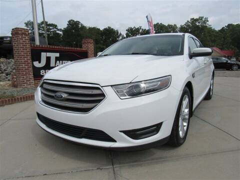 2017 Ford Taurus for sale at J T Auto Group in Sanford NC
