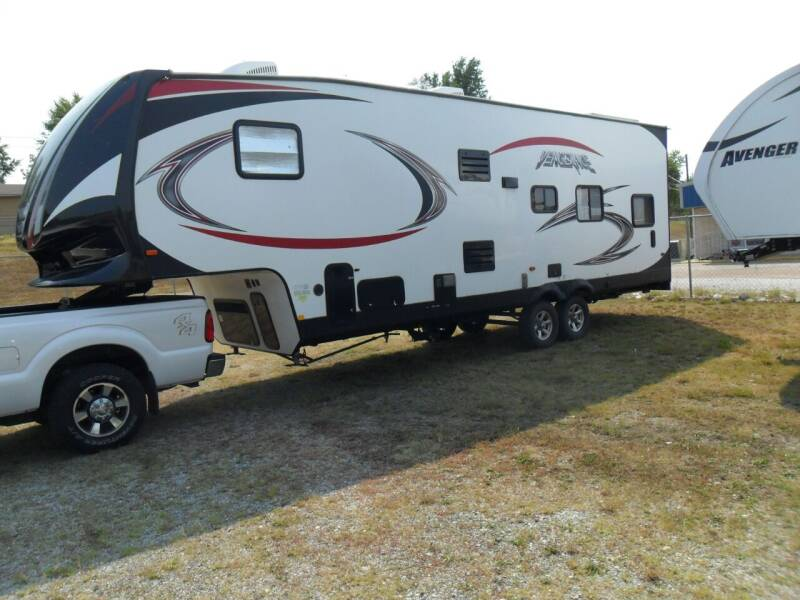 2017 Vengence Toy hauler for sale at C MOORE CARS in Grove OK