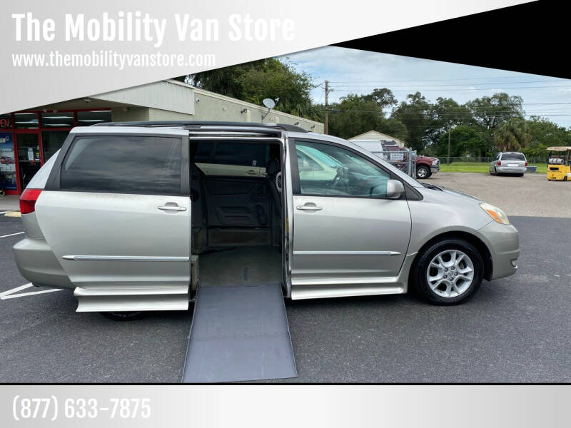 2005 Toyota Sienna for sale at The Mobility Van Store in Lakeland FL