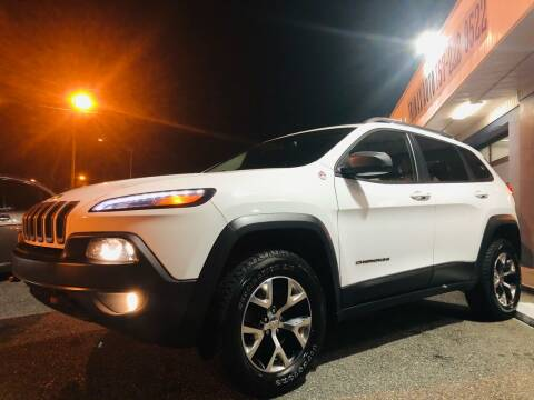 2014 Jeep Cherokee for sale at Trimax Auto Group in Norfolk VA