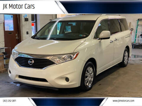 2012 Nissan Quest for sale at JK Motor Cars in Pittsburgh PA