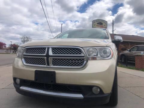 2011 Dodge Durango for sale at All Starz Auto Center Inc in Redford MI