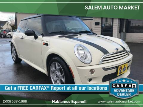 2005 MINI Cooper for sale at Salem Auto Market in Salem OR