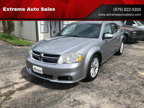 2014 Dodge Avenger for sale at Extreme Auto Sales in Bryan TX