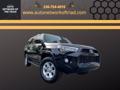 2017 Toyota 4Runner for sale at Auto Network of the Triad in Walkertown NC