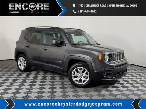 2018 Jeep Renegade for sale at PHIL SMITH AUTOMOTIVE GROUP - Encore Chrysler Dodge Jeep Ram in Mobile AL