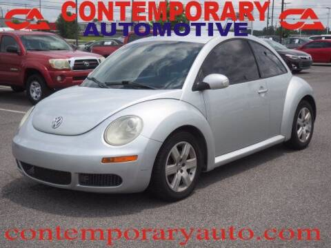 2007 Volkswagen New Beetle for sale at Contemporary Auto in Tuscaloosa AL