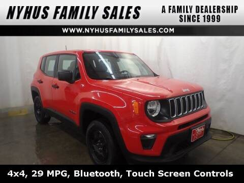 2020 Jeep Renegade for sale at Nyhus Family Sales in Perham MN