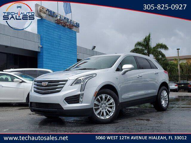 2018 Cadillac XT5 for sale at Tech Auto Sales in Hialeah FL