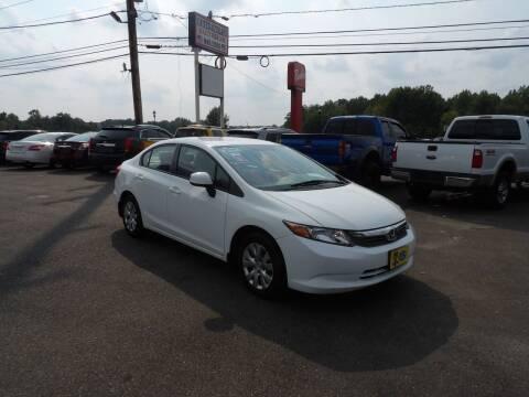 2012 Honda Civic for sale at United Auto Land in Woodbury NJ