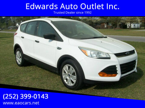 2016 Ford Escape for sale at Edwards Auto Outlet Inc. in Wilson NC