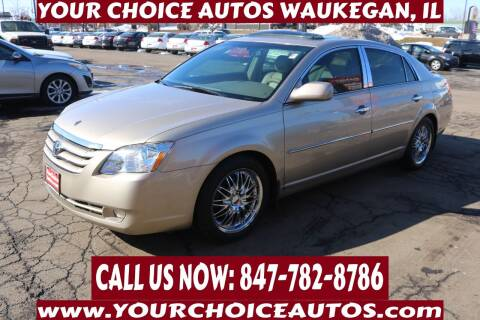 2006 Toyota Avalon for sale at Your Choice Autos - Waukegan in Waukegan IL