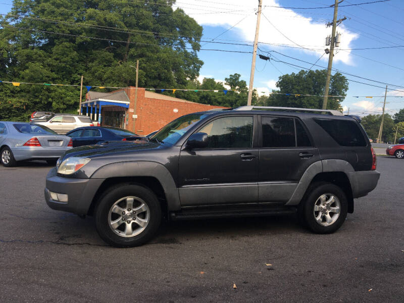 2003 Toyota 4Runner for sale at Diamond Auto Sales in Lexington NC