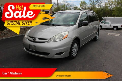 2006 Toyota Sienna for sale at Euro 1 Wholesale in Fords NJ