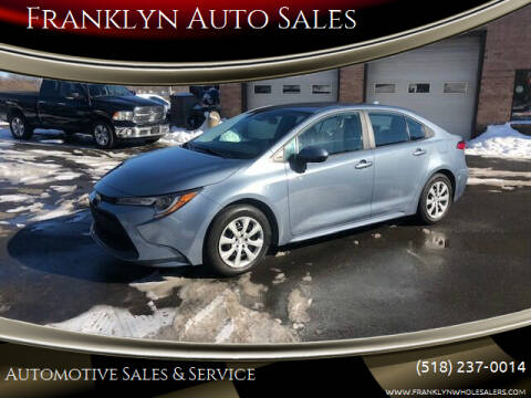 2020 Toyota Corolla for sale at Franklyn Auto Sales in Cohoes NY