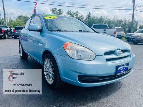 2010 Hyundai Accent for sale at Transportation Center Of Western New York in Niagara Falls NY