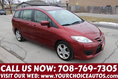 2010 Mazda MAZDA5 for sale at Your Choice Autos in Posen IL