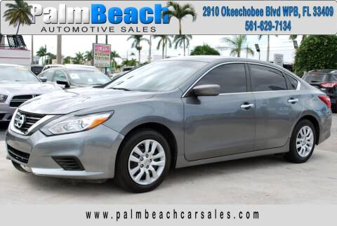 2016 Nissan Altima for sale at Palm Beach Automotive Sales in West Palm Beach FL