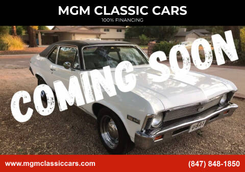 1968 Chevrolet Nova for sale at MGM Classic Cars in Addison, IL