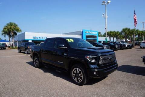 2020 Toyota Tundra for sale at WinWithCraig.com in Jacksonville FL