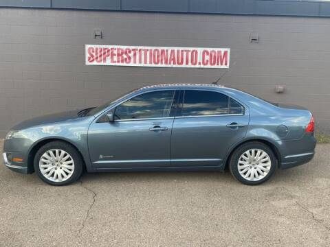 2011 Ford Fusion Hybrid for sale at Superstition Auto in Mesa AZ