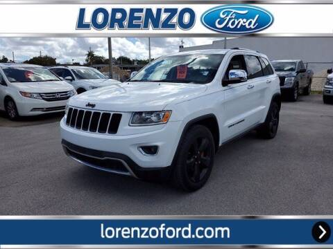 2014 Jeep Grand Cherokee for sale at Lorenzo Ford in Homestead FL