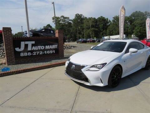 2015 Lexus RC 350 for sale at J T Auto Group in Sanford NC