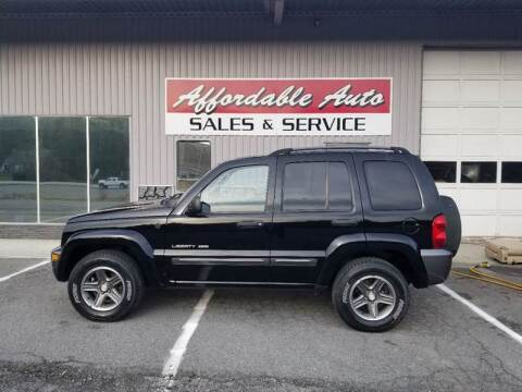 2004 Jeep Liberty for sale at Affordable Auto Sales & Service in Berkeley Springs WV